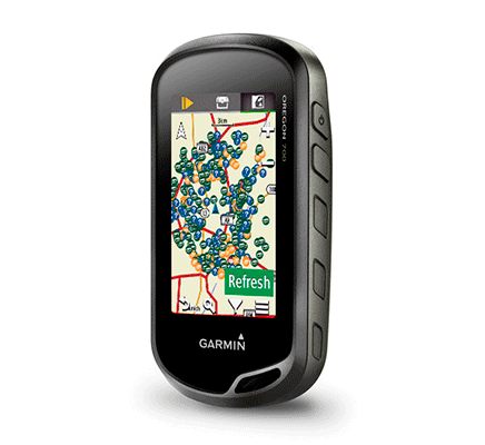 GPS Exploración Oregon 750