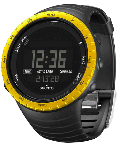 Reloj Suunto Core Black Yellow